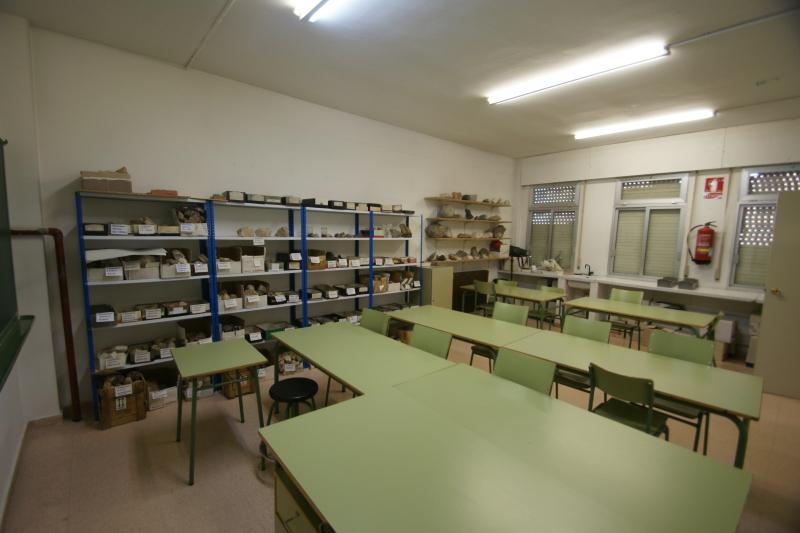 Laboratorio Geología